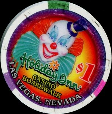 $1 Las Vegas Holiday Inn Boardwalk Casino Chip - UNCIRCULATED