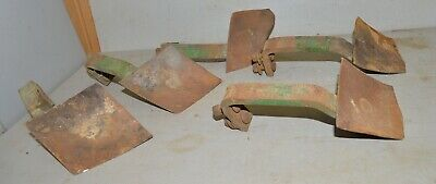 John Deere tractor plow cultivator arm & blade vintage collectible tool lot