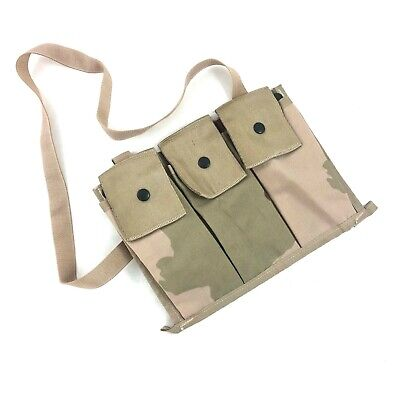 US Military 6 MAG MOLLE II Bandoleer Ammo Pouch 3-Color Desert Camo MINT//LN