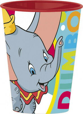 Disney DUMBO DER ELEFANT Becher Kinder Trinkbecher Plastikbecher ca.260 ml NEU
