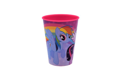 MY LITTLE PONY Friends Forever Becher Kinder Trinkbecher Plastikbecher ca.260 ml