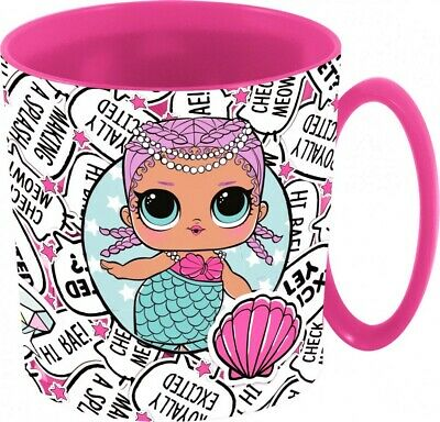 LOL SURPRISE Tasse Kinder LOL SURPRISE Henkeltasse rot ca.350 ml auch Mikrowelle