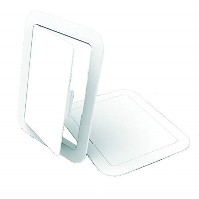 Manthorpe GL50 Access Panel Inspection Hatch White 100mm x 150mm Fuse Boxes,
