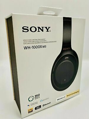 Sony WH-1000XM3 Wireless Noise Canceling Over-Ear Headphones w/ Google Assistant