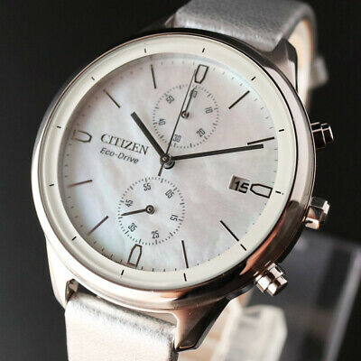 Stock Citizen Eco Drive Solar 39Mm Ladies Without Battery Replacement Brand