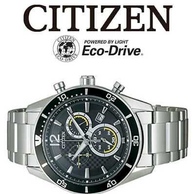 No Batteries Required Cheap Citizen Collection Eco Chronograph Men'S Watches