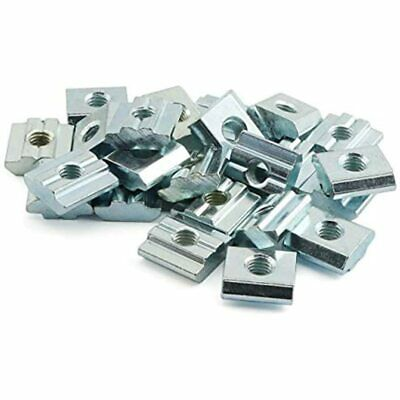 PZRT 24PCS 20 Series 2020 M5 T-Nut Sliding T-Slot For Aluminum Extrusion Profile