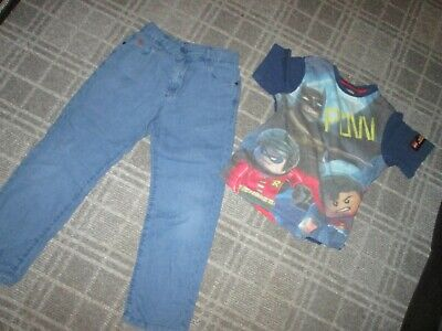 NEXT-boys BUNDLE AGE 6-7-8 MIXED items CLOTHES,MULTI,CHINO TROUSERS T-SHIRT TOP