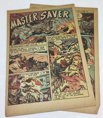 1947 cartoon story ~ BRUCE THE HIGHLAND COLLIE ~ Master Saver