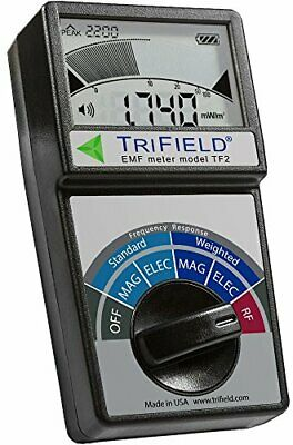 Electric Field, Radio Frequency (RF) Field, Magnetic Field Strength Meter by Tri