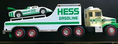 Hess Gasoline Truck With Racer Car On Back