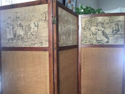 Beautifully restored women's vintage changing screen.
