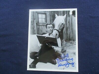1960's Alan Young (Wilbur Post & Mister Ed) Signed BEAUTIFUL EARLY Photograph