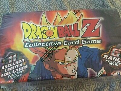 DragonballZ DBZ Trunks Reforged Preconstructed Theme Deck Factory Sealed RARE 1X