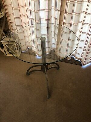 Second hand Cafe Bar Commercial Glass Table