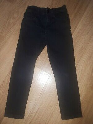 Boys NEXT Skinny Fit Jeans - 5 Years - Black