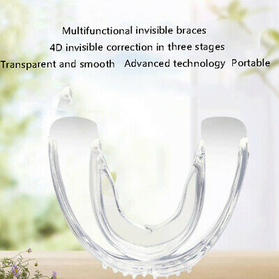 1×Dental Orthodontic Appliance Tooth Retainer Teeth Corrector Trainer Braces_LO