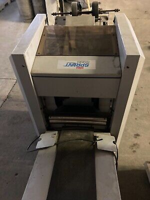 Sprint 5000 Bookletmaker and Collator with operator manual
