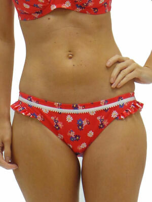 Size 8 Lepel Daisy Swimsuit Can be worn strapless and halter neck Red NEW