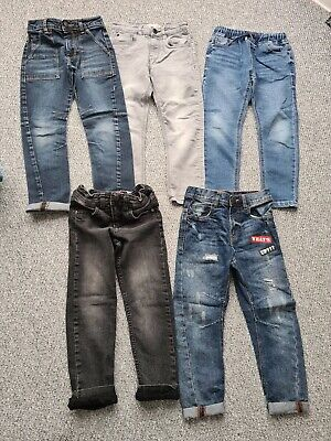 Boys Next George Matalan Jeans Bundle Age 5-6 Years X5