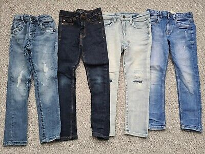 Boys Next Matalan H&M Skinny Jeans X4 Age 5-6 Years