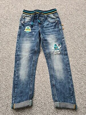 Boys Next Rocket 🚀 Space Jeans Age 5-6 Years Bnwot