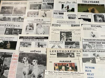 Great Dane Kennel Breed Clippings X 50