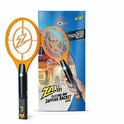 Bug Zapper Rechargeable Mosquito, Fly Killer and Bug Zapper Racket - 4,000 Volt