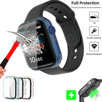 For iWatch Apple Watch Series4/5/6/SE Screen Protector Clear TPU Cover Soft Case