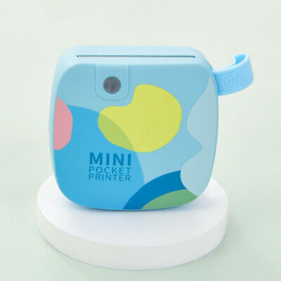 Blue Mini Thermal Printer For Student Wireless 121