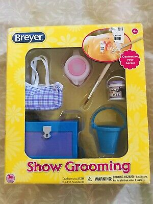 NEW Breyer Show Grooming Collection Toy Horse Assessory Kit 61076 Factory Sealed