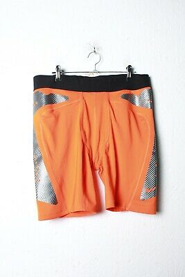 Nike Pro Combat Mens Shorts - Orange - Size XXL 2XL (L-SS7)