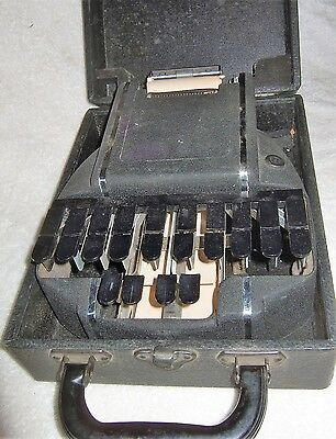 Antique Stenotype Stenograph Machine Shorthand Used in Court
