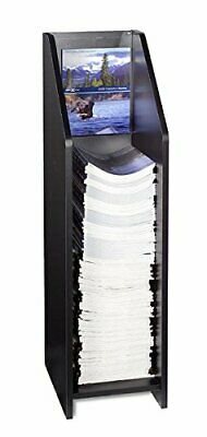 Literature Floor Stand for 9 x 12 inch Catalogs Clear Acrylic Header Included...
