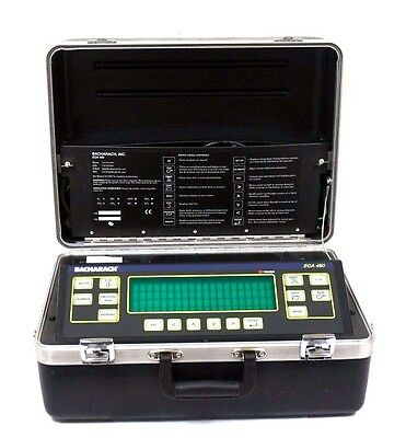 Bacharach Eca-450 Environmental Combustion Analyzer 24-7221, Eca450, 247221