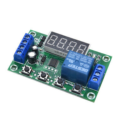 DC 12V 5A YYC-2S Adjustable LED Delay Relay Module Timer Control Switch Boar GS