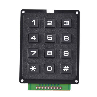 4 x 3 Matrix Array 12 Tasten 4 * 3 Switch Keypad Tastaturmodul für Ardu GgGSIT