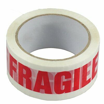 Triplast 48 mm x 66 m Fragile Printed Low Noise Parcel Packing Tape