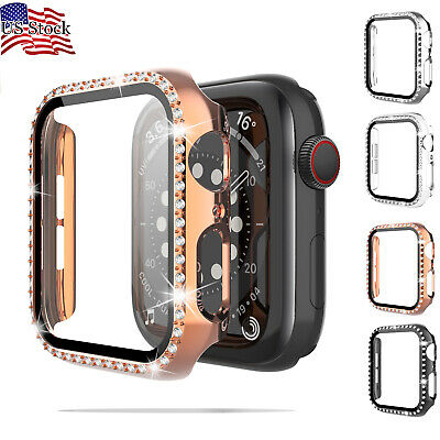 Full Screen Protector 3D Cover Hard Case For iWatch Apple Watch Series 4/5/6/SE