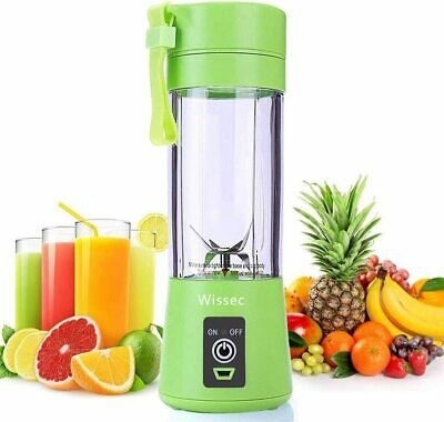Portable Blender Mini Blenders Personal Smoothies Shakes 3 Stainless Steel Fully