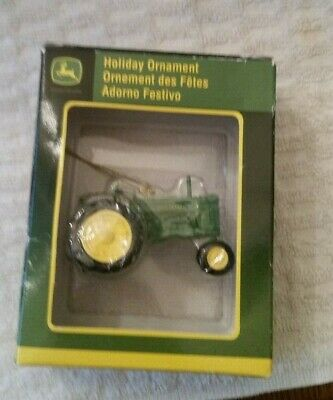 Enesco John Deere Tractor Holiday Ornament New In Package