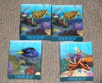 AUSTRALIA, 2011, 4x 50 cent, PF, Reef series, in box, as a lot