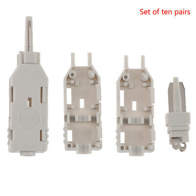 10Pcs 110 Test Head Voice Connector Check Phone Voice For Telecom Patch PanLO