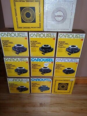 SERVICED Kodak 750H Carousel Slide Projector - Remote Focus - READY TO USE - C3