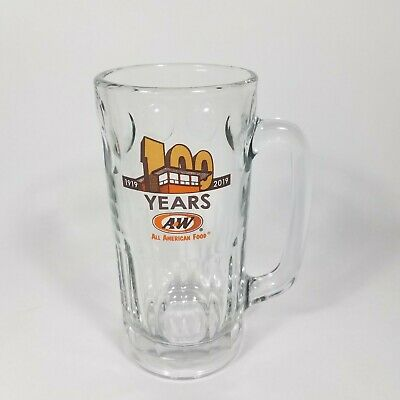 "2019 A&W 100 Years All American Food Collectors 7"" Stein Mug Cup"