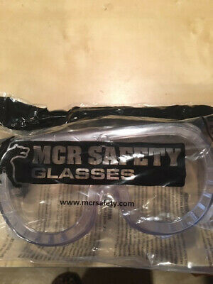 11 Pairs MCR Safety Goggle Clear Indirect Vent ANSI Z87+ UV Protection New