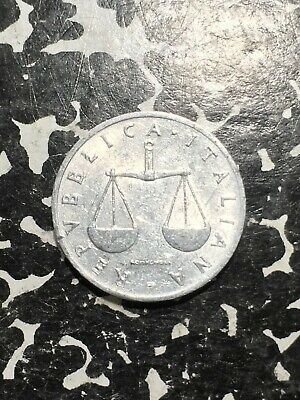 1954 Italy 1 Lira (4 Available) High Grade! Beautiful!  (1 Coin Only)