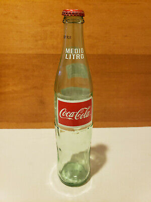 Vintage Coca Cola Bottle Medio Litro 500ml with Cap