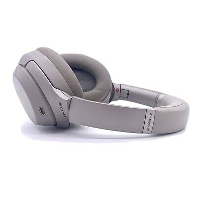 Sony WH-1000XM3 Wireless Noise Canceling Bluetooth Over Ear Headphones Silver