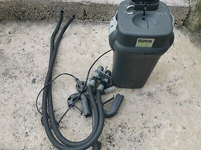 Fluval 205 filter used, new media required by buyer. Good filter system